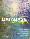 Cover of Database Concepts