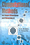 Computational Methods for Smart Structures and Materials II Book