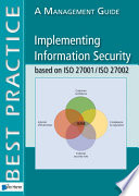 Implementing Information Security Based On Iso 27001 Iso 27002 Book PDF