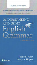 Understanding and Using English Grammar Etext with Essential Online Resources  Access Card