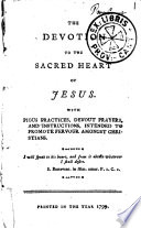 The Devotion to the Sacred Heart of Jesus Book
