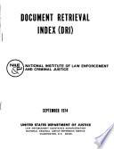 Document Retrieval Index