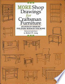 More Shop Drawings for Craftsman Furniture