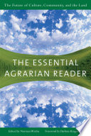 The Essential Agrarian Reader Book PDF