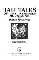Tall Tales of the Kentucky Mountains Book
