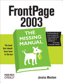 FrontPage 2003: The Missing Manual
