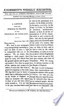 Cobbett's political register / English edition  , Band 46,Ausgaben 1-13