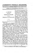Cobbett's political register / English edition