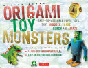 Origami Toy Monsters Kit