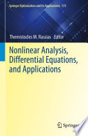 Nonlinear Analysis  Differential Equations  and Applications