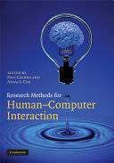 Research Methods for Human Computer Interaction Book