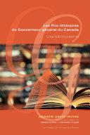 Les Prix littéraires du Gouverneur général du Canada [Pdf/ePub] eBook