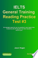 IELTS General Training Reading Practice Test #3