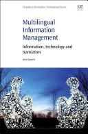 Multilingual Information Management Book