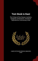 Text Book To Kant