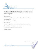 Cellulosic Biofuels Analysis Of Policy Issues For Congress Book PDF