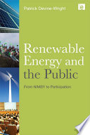 Renewable Energy And The Public Book PDF