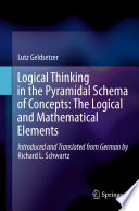 Logical Thinking In The Pyramidal Schema Of Concepts The Logical And Mathematical Elements Book PDF