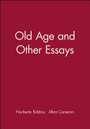 Pdf Old Age and Other Essays Telecharger