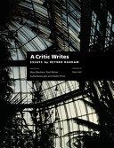 A Critic Writes