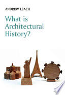 What is Architectural History