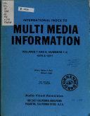 International Index to Multi media Information