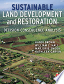 Sustainable Land Development And Restoration Book PDF