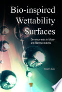 Bio Inspired Wettability Surfaces Book PDF
