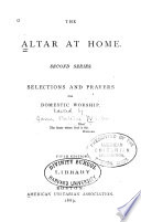 The Altar at Home Book