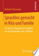Sprachlos gemacht in Kita und Familie