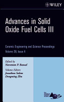 Advances in Solid Oxide Fuel Cells III
