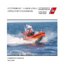 Manuals Combined  U S  Coast Guard Cutterboat  Defender Class  Utility And Special Purpose Craft Boat Handbooks