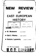 New Review of East European History
