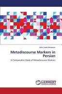 Metadiscourse Markers in Persian