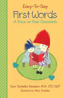 Easy To Say First Words Book PDF
