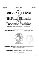 The American Journal of Tropical Diseases and Preventive Medicine