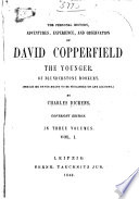 The Personal History, Adventures, Experience, and Observation of David Copperfield the Younger