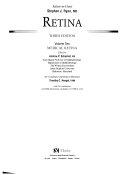 Retina  Medical retina Book