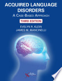 Acquired Language Disorders