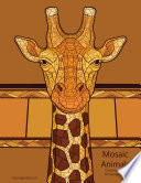Mosaic Animals Coloring Book for Grown Ups 1
