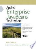 Applied Enterprise JavaBeans Technology