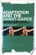 Adaptation And The Avant Garde Book
