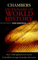 Chambers Dictionary of World History Book