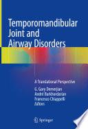 Temporomandibular Joint and Airway Disorders Book