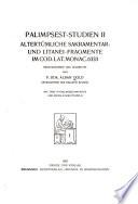 Palimpsest-Studien