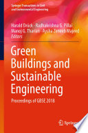 Green Buildings and Sustainable Engineering