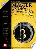 Master Anthology of Fingerstyle Guitar Solos  Volume 3