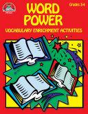 Word Power Grades 3 4  eBook