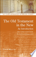 The Old Testament In The New An Introduction