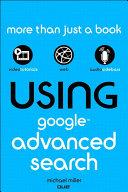 Using Google Advanced Search